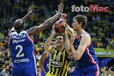 Anadolu Efes yenilgisi sonrası Fenerbahçe'de Obradovic isyanı! Yüzün varsa...