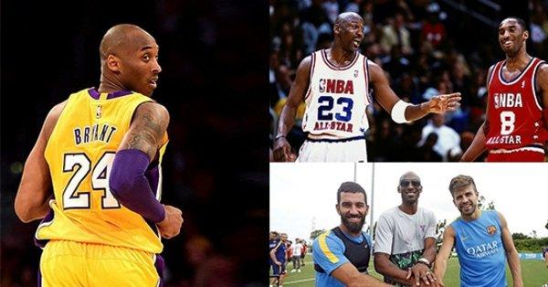 Kobe Bryant'ı 24 özel kare ile hatırlıyoruz